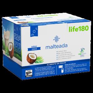 Malteada Coco Life180