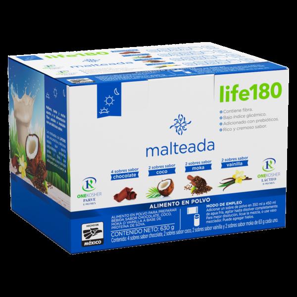 Malteada Multisabor Life180