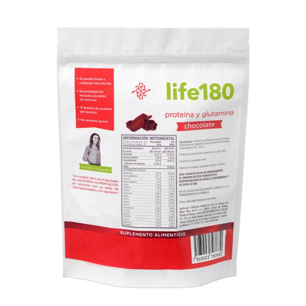 Proteína con Glutamina sabor chocolate